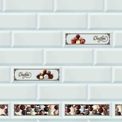 Декоративная панель (фартук) АБС Керамика Choko (3м)