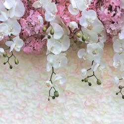 Декоративная панель (фартук) АБС Цветущие орхидеи (3м)