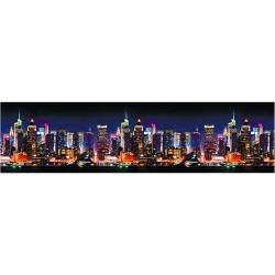 Декоративная панель ABS (фартук/панно) Город
