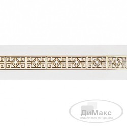 "Бленда ""амулет"" белый глянец 30 м ширина 68 мм"