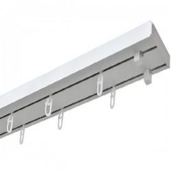 Карниз потолочный Уют Оптима двухрядный (180 см)
