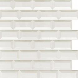 Панель облицовочная МЕТРО 3D белый 595*560*8 мм