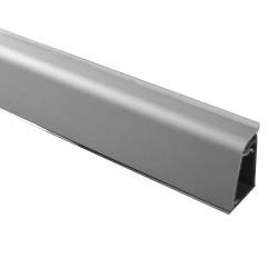 Кухонный плинтус для столешниц Rico Technical алюминиевый прямоугольный (32х20 мм)