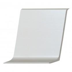 Плинтус алюминиевый (60 мм) Серебро