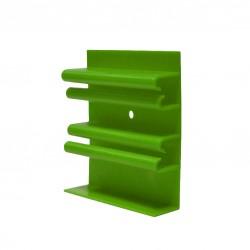 Клипса монтажная (крепеж) для плинтуса из вспененного ПВХ Aqua 20 (6 шт)