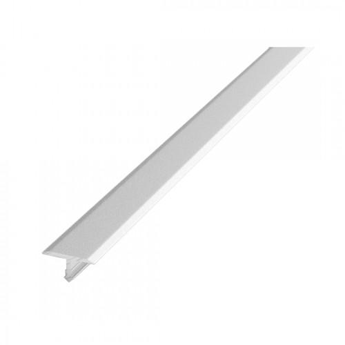 Т-образный алюминиевый порог Т20 (20 мм) Белый (2,7м)