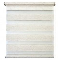 Рулонная штора с цепочкой День/Ночь Канзас натуральный (50х160 см)