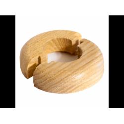 Розетта напольная деревянная, Дуб, 20 мм