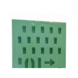 Подложка перфорированная для полов с подогревом, 3 мм