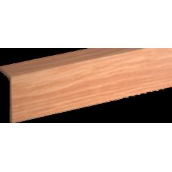 Профиль арочный Rico moulding 10*20*2700 №101 (Вишня)