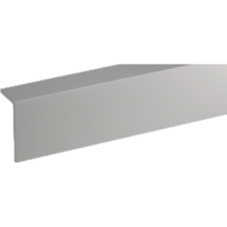 Профиль арочный Rico moulding 10*20*2700 №103 (Серый) однотонный