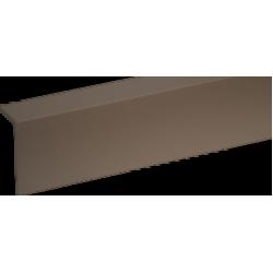 Профиль арочный Rico moulding 10*20*2700 №104 (Шоколад) однотонный